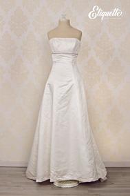 90eb10ade Vestido De Novia En Remate Bonito Blanco Barato