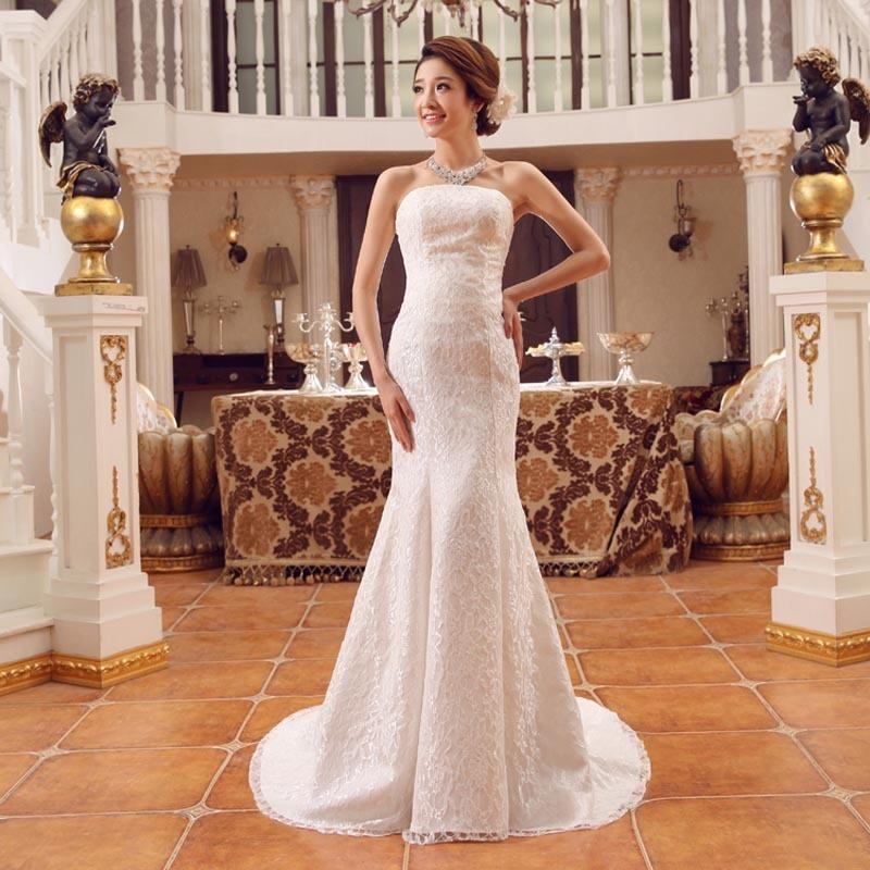 vestido de novia encaje corte sirena, adaptable - $ 2,699.00 en