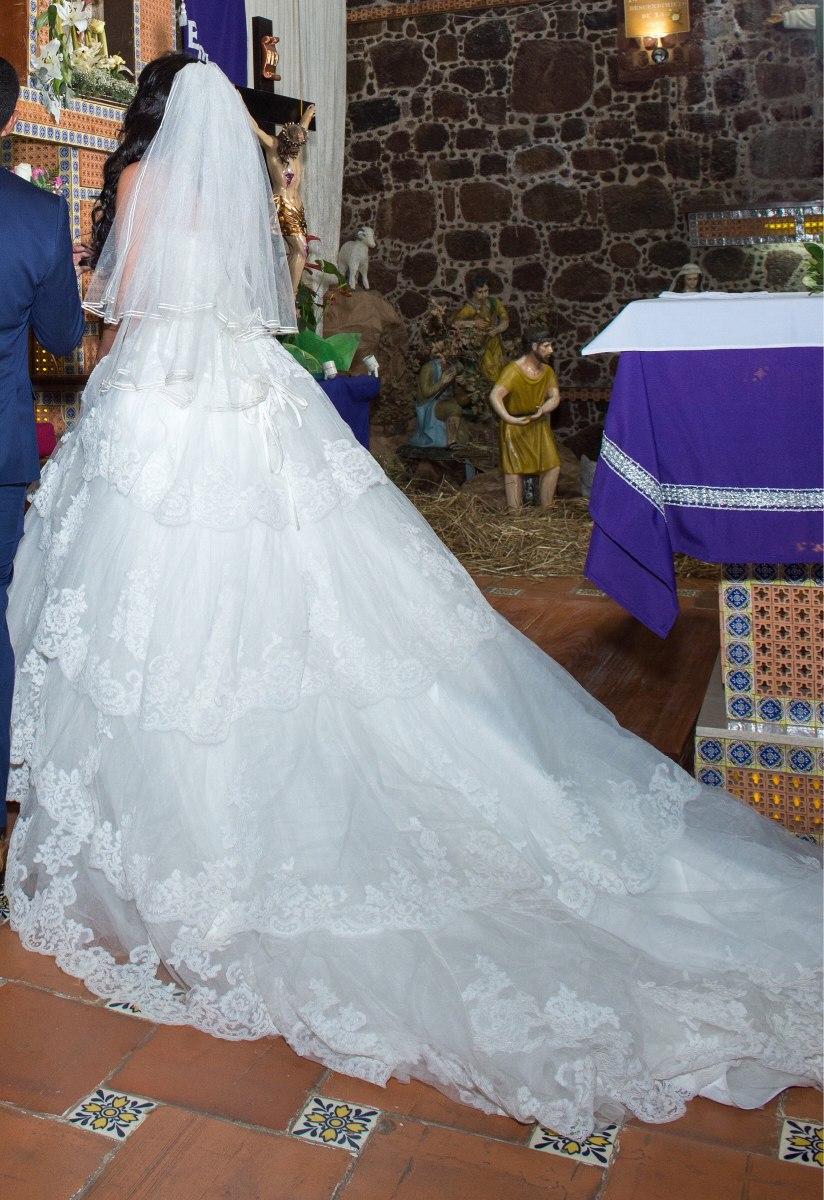 Vestido De Novia Encaje Y Escote De Corazon - $ 13,999.00 en Mercado ...