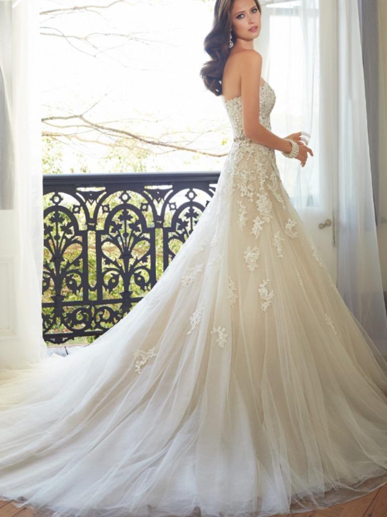 Asombroso Vestido De Novia Entrega Rápida Ideas Ornamento ...