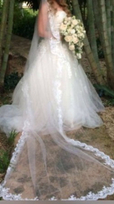 vestido de novia entrega inmediata remate - $ 3,100.00 en mercado libre
