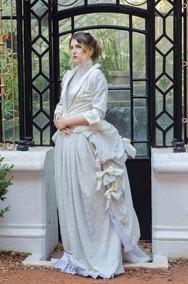 Vestido De Novia época Victoriano Fiesta A Medida