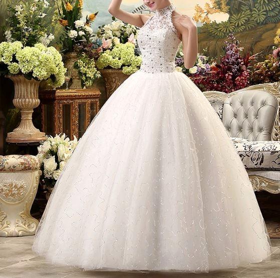 vestido de novia, espalda descubierta-personalizado - $ 11.900,00 en