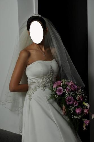 vestido de novia espectacular importado de usa