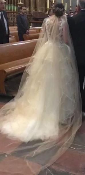 vestido de novia essenzia española - $ 10,000.00 en mercado libre