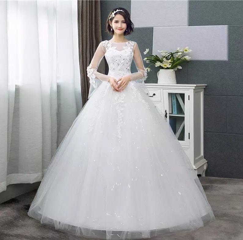 Vestido De Novia Estilo Coreano