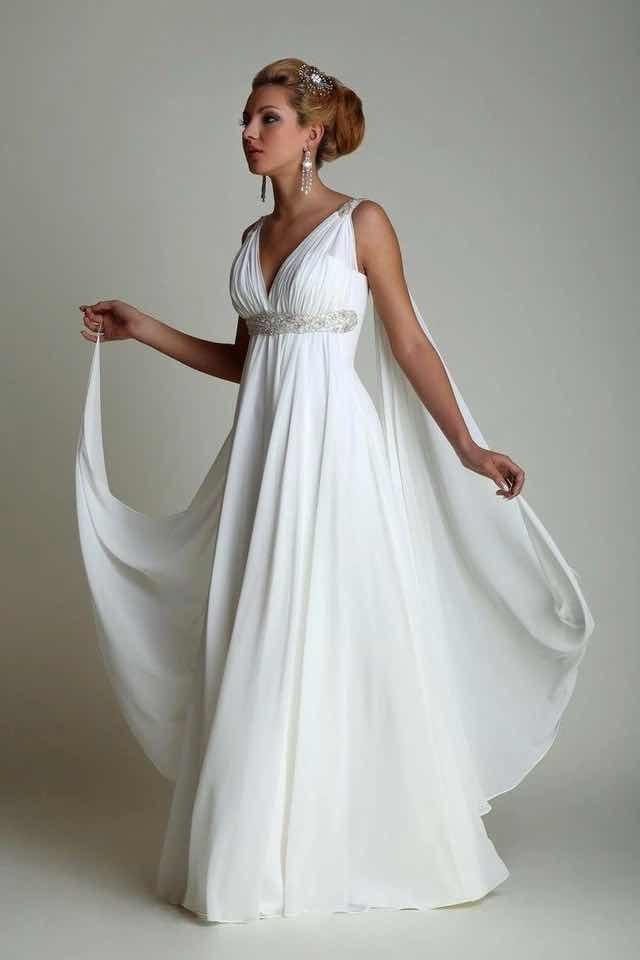 Fotos de vestidos de novia estilo griego