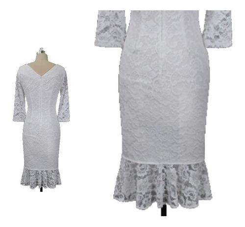 vestido de novia - fiesta - cóctel  0101184  elbauldecorina