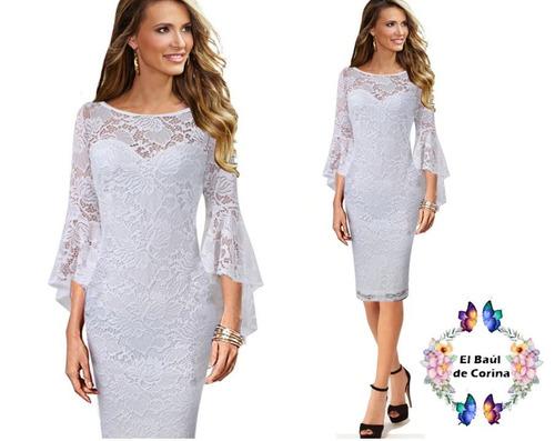 vestido de novia - fiesta - cóctel  0101186  elbauldecorina