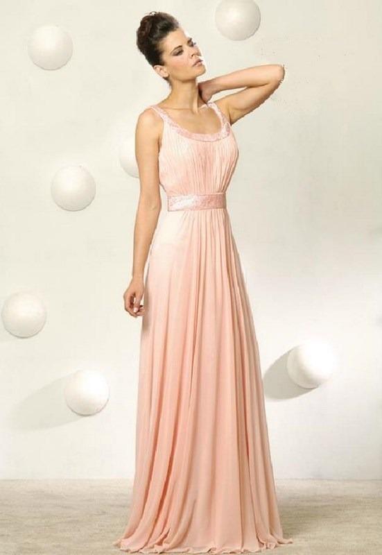 vestido de novia, fiesta, noche, color naranja - bs. 1,50 en mercado