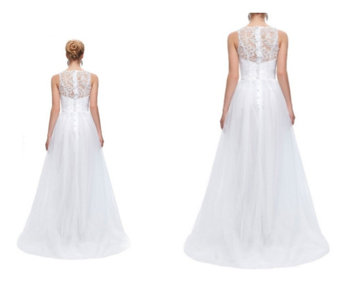 vestido de novia - gala - fiesta   0101173  elbauldecorina