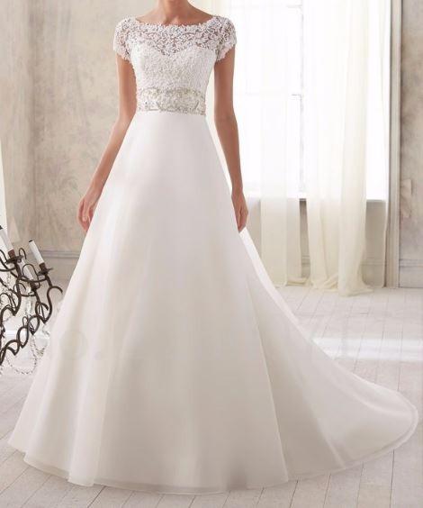 vestido de novia- hecho a medida-el valor es por la seña! - $ 3.000