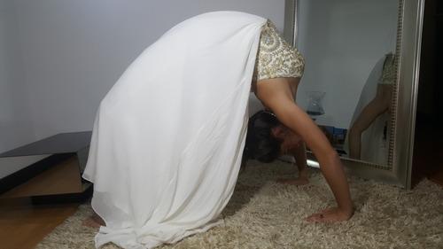 vestido de novia. importado.