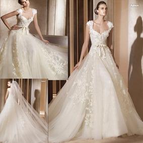 nuevo diseño comprar precios grandiosos Vestido De Novia Importado Color Ivory