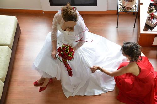 vestido de novia importado de españa (maxima calidad)