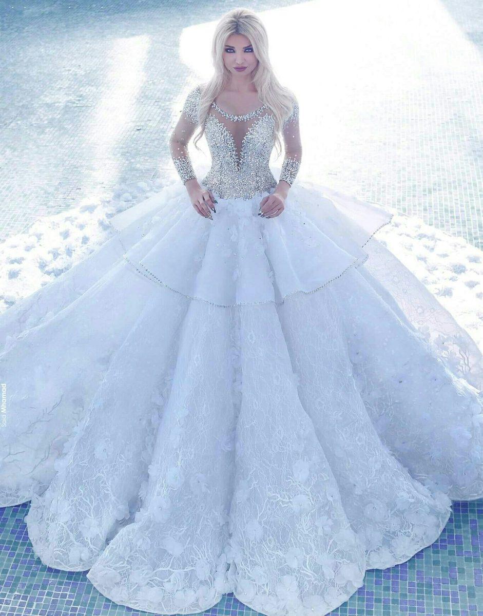 Vestido De Novia Importado De Francia Único En El País! - $ 20.000 ...