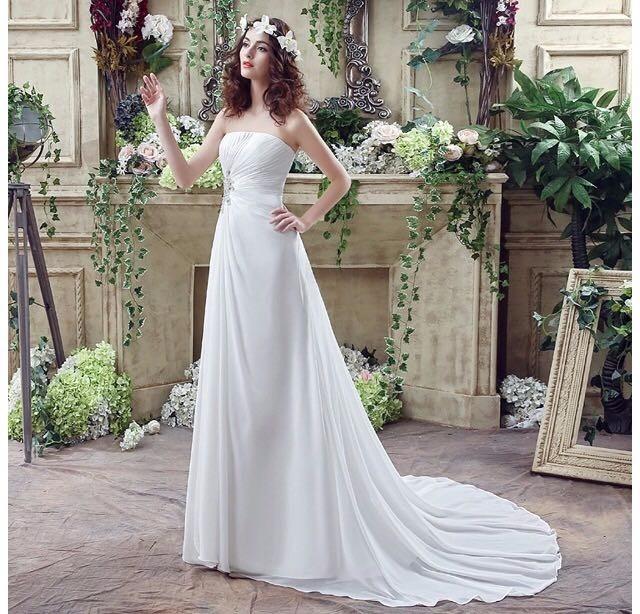 vestido de novia importado estados unidos nuevo con strass - $ 9.899