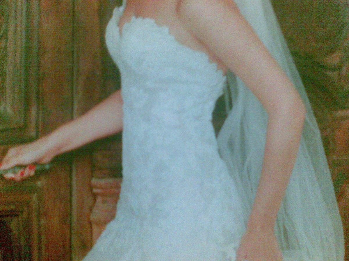 Vestido De Novia Innolvidable Tejido A Mano - U$S 1.000,00 en ...