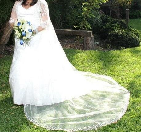 vestido de novia ivory