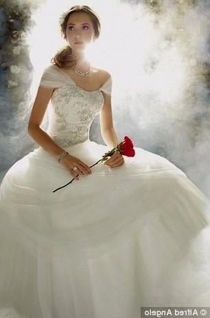 vestido de novia la bella y la bestia disney - $ 7,800.00 en mercado