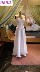 b2df14146 Falda De Paletones - Vestidos De novia Largo de Mujer en Mercado ...
