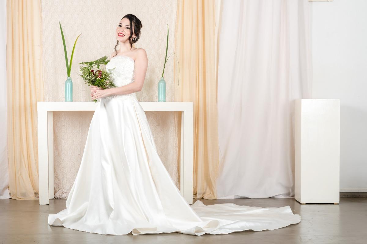 Largo del vestido de novia