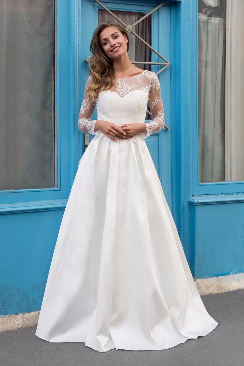 Magnificent Vestidos Sencillos De Novia Vignette - Wedding Dress ...