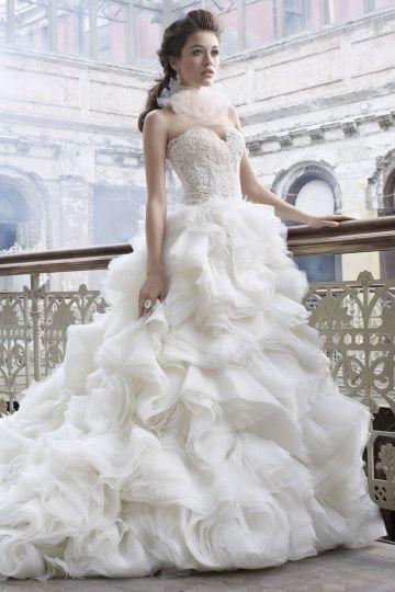 Vestido De Novia Lazaro Original - $ 45,000.00 en Mercado Libre