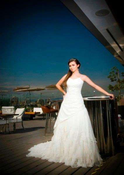 vestido de novia macarena palma - $ 250.000 en mercado libre