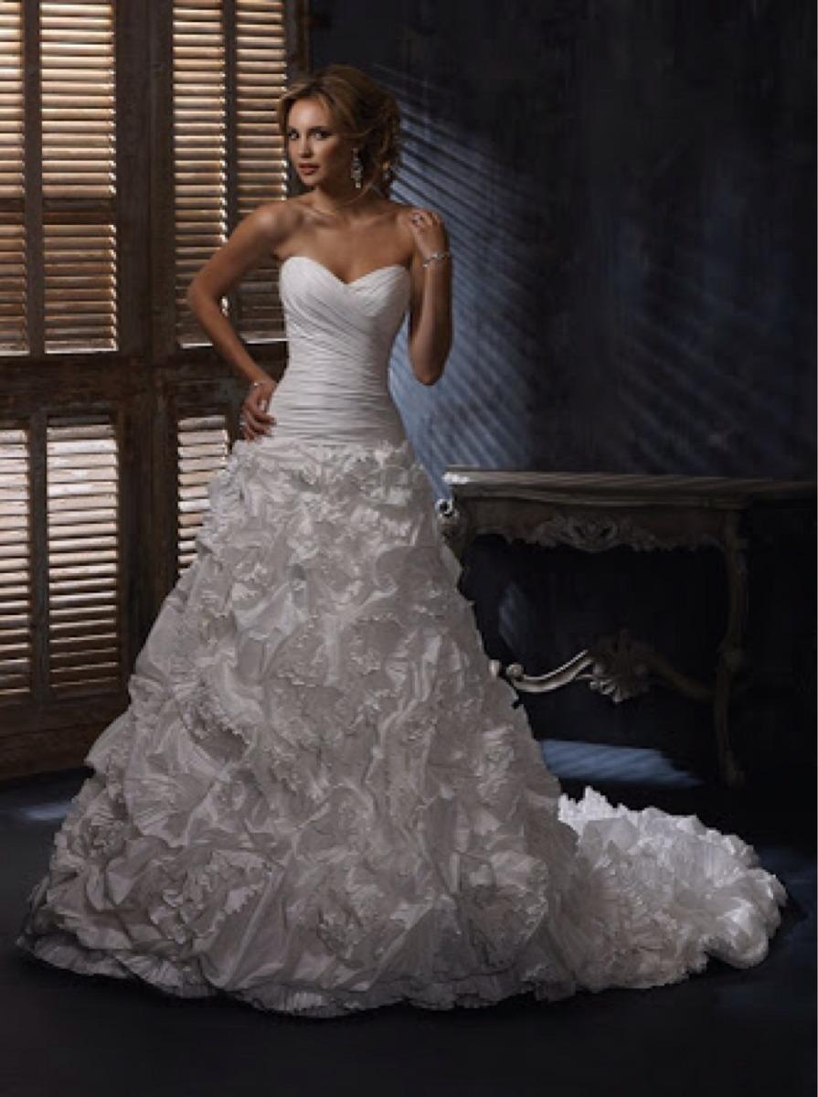 Vestido De Novia Maggie Sottero Venecia - $ 7,000.00 en Mercado Libre