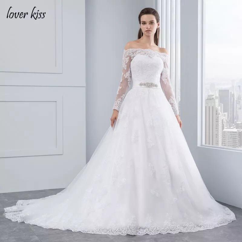 vestido de novia manga larga encaje - $ 599.999 en mercado libre