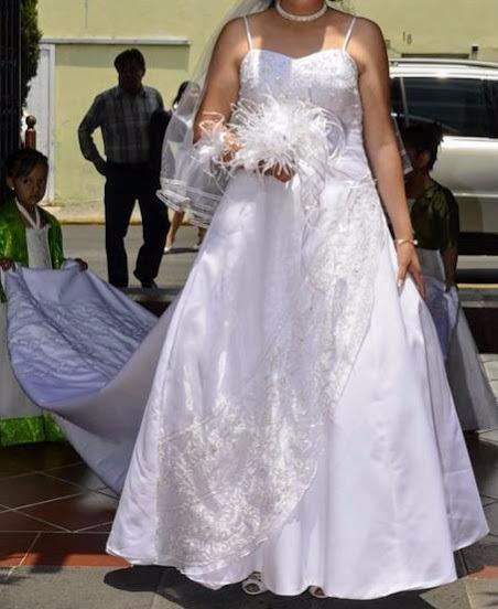 vestido de novia marca essence - $ 3,500.00 en mercado libre