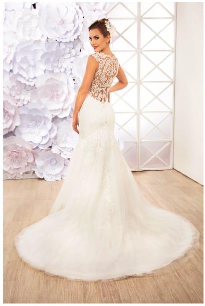 vestido de novia marca essence española - bs. 900,00 en mercado
