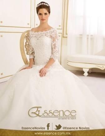 vestido de novia marca essence seminuevo - $ 7,500.00 en mercado libre