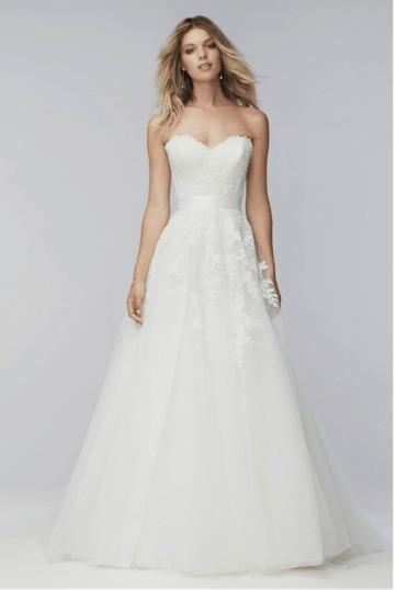 vestido de novia marca lace & lemons liz corset y falda 2017