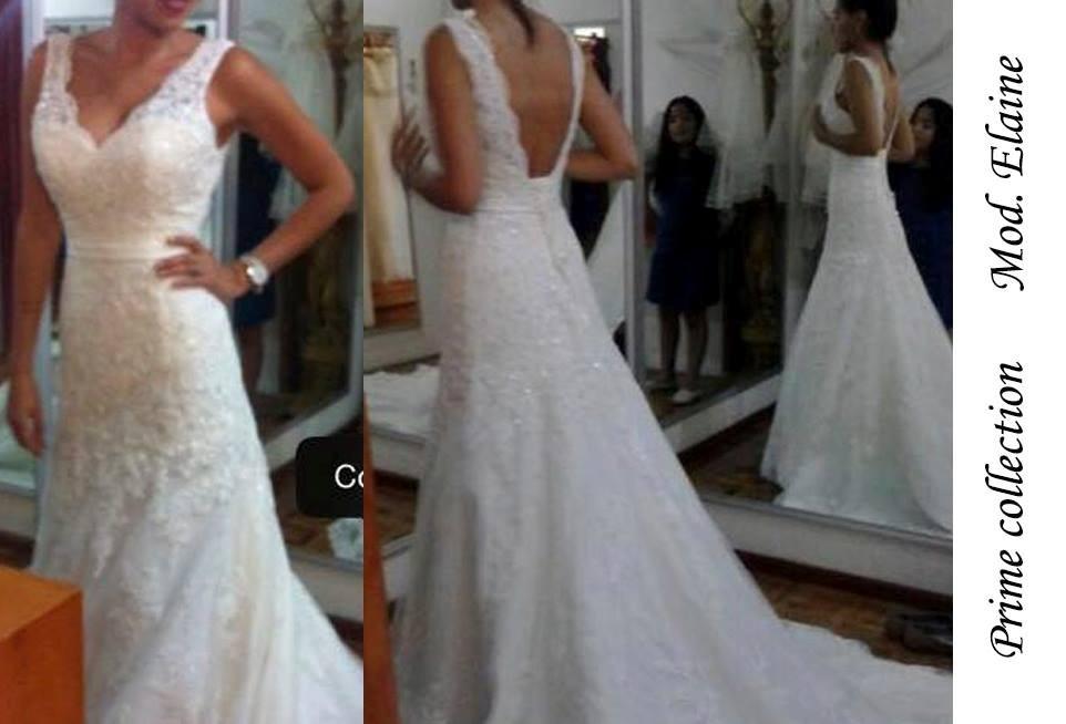 vestido de novia marca prime collection talla 4-6 - $ 9,000.00 en