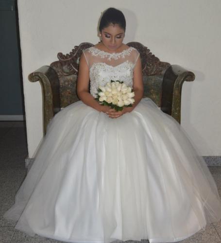 vestido de novia matrimonio