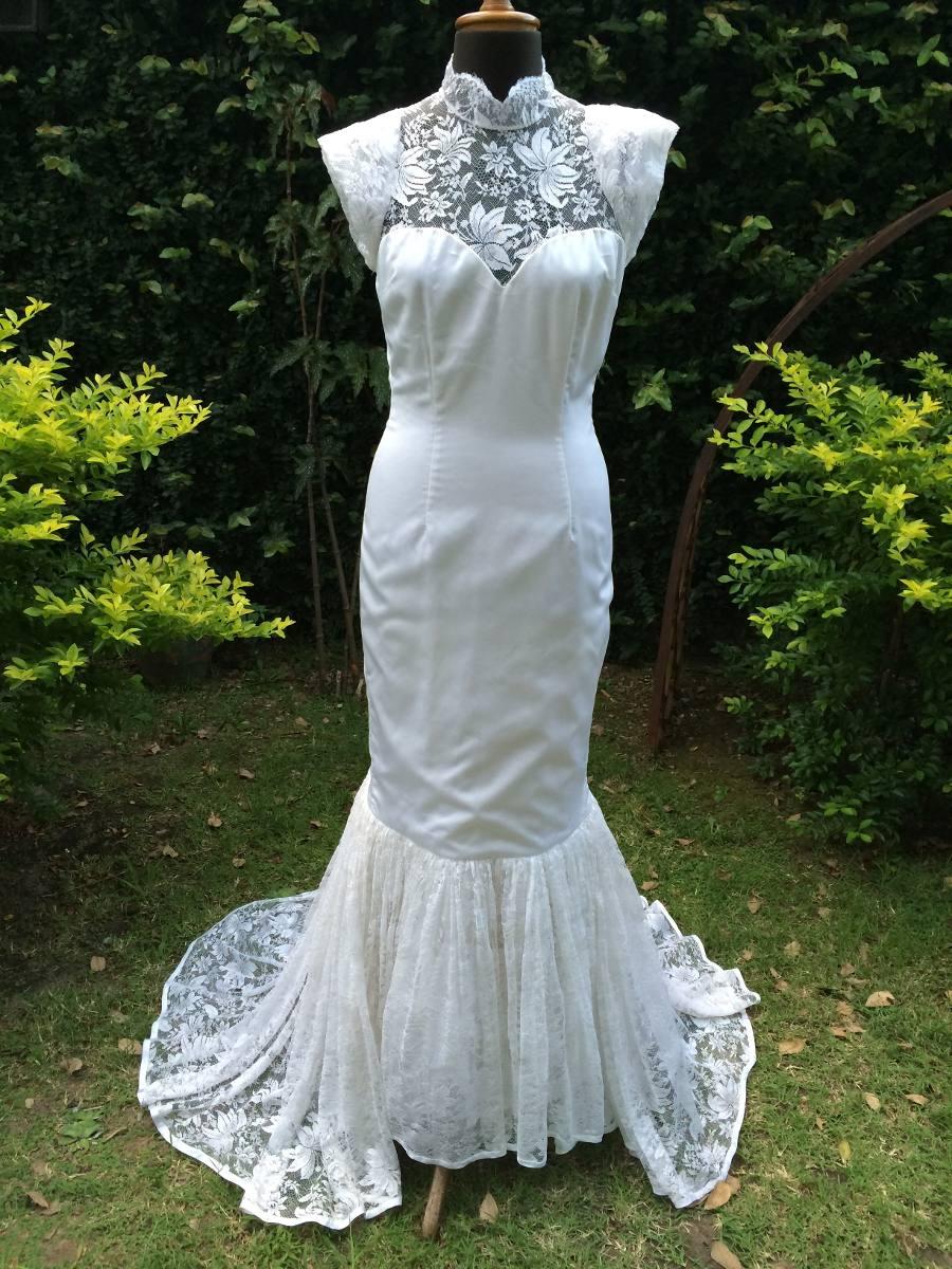 Vestido De Novia Modelo Sirena - $ 3.500,00 en Mercado Libre