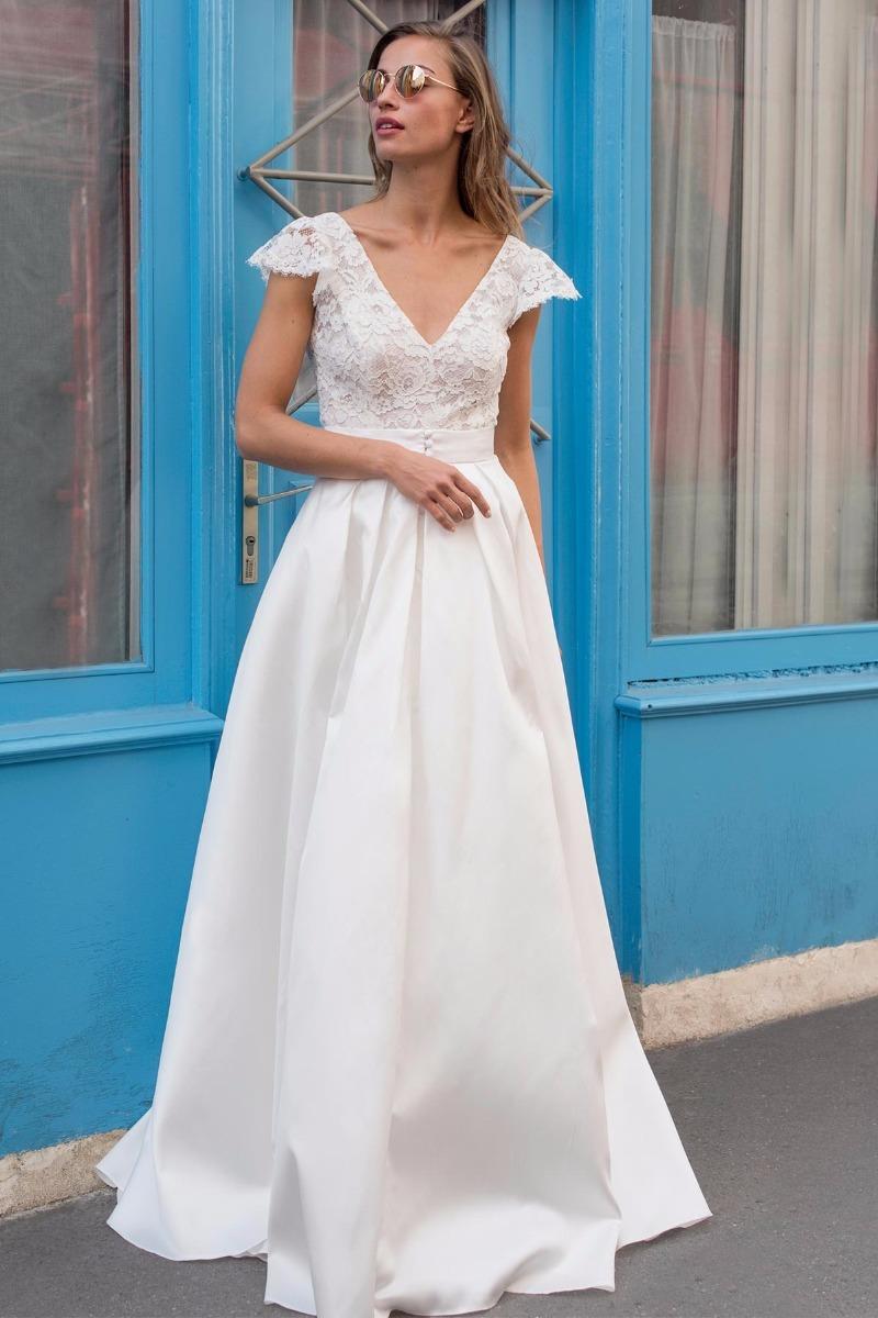 Vestido De Novia Modelos Sencillos - $ 15.000,00 en Mercado Libre