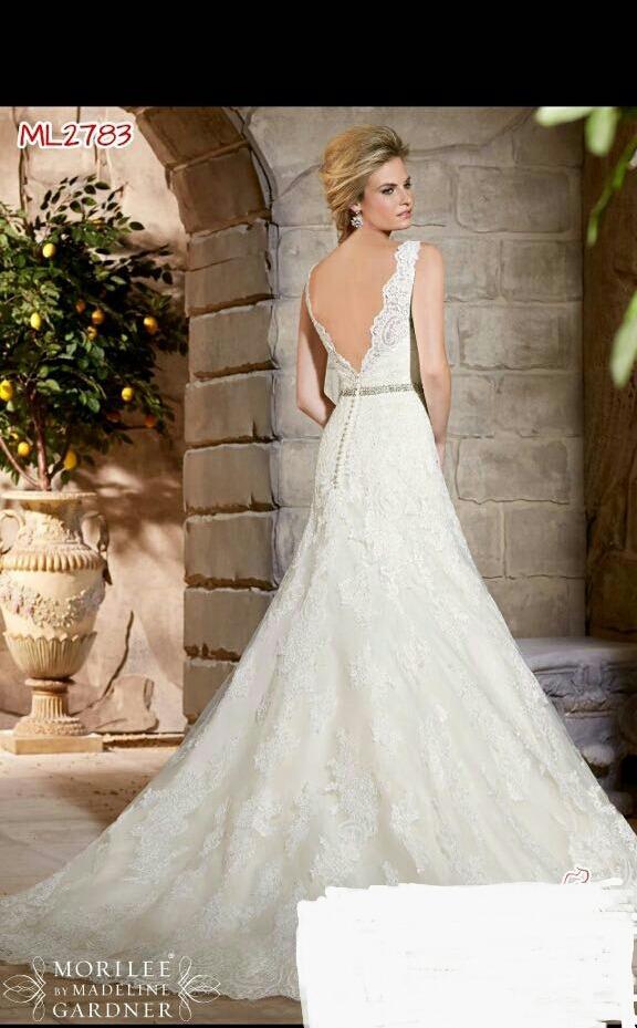 vestido de novia mori lee - $ 11,000.00 en mercado libre