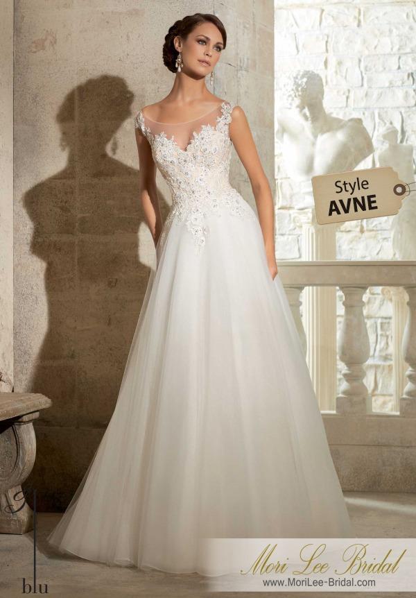 vestido de novia mori lee bridal avne - $ 2.209.600 en mercado libre