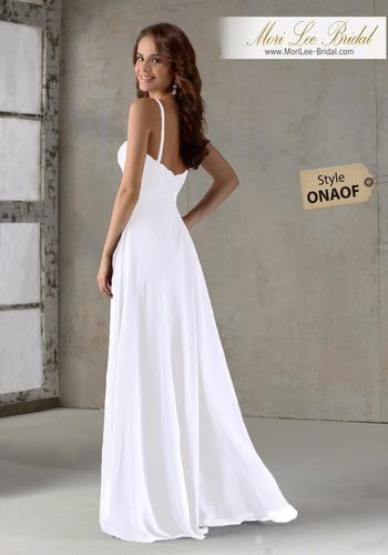 vestido de novia mori lee bridal boda civil onaof