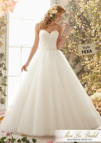 vestido de novia mori lee bridal fexa