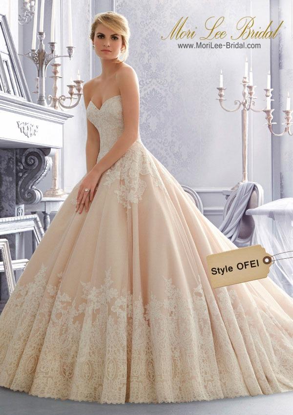 vestido de novia mori lee bridal ofei - $ 4.541.200 en mercado libre