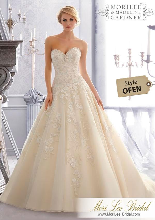 vestido de novia mori lee bridal ofen - $ 5.649.600 en mercado libre