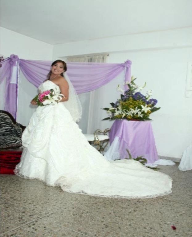 vestido de novia mori leemadeline gardner - bs. 1,20 en