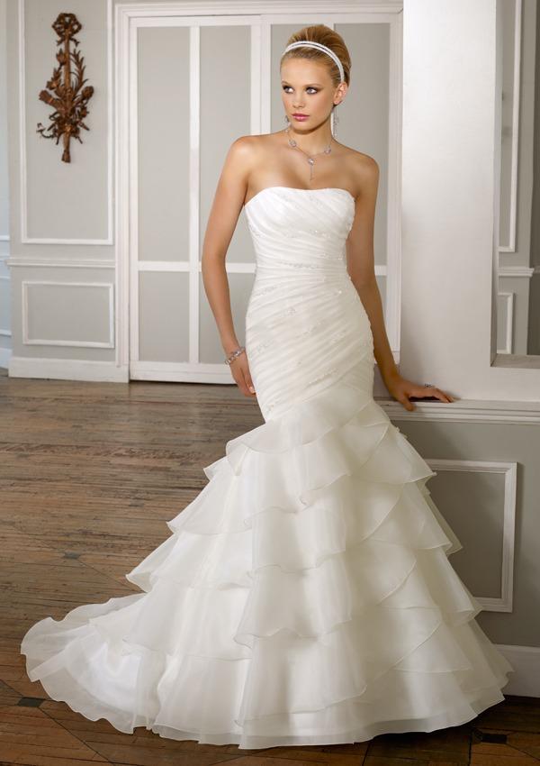 vestido de novia mori lee, ivory, nuevo!!! - $ 7,000.00 en mercado libre