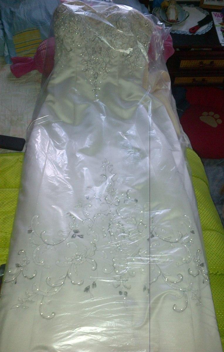 Vestido De Novia ( Mundo De Novias) Usado - Bs. 980,00 en Mercado Libre