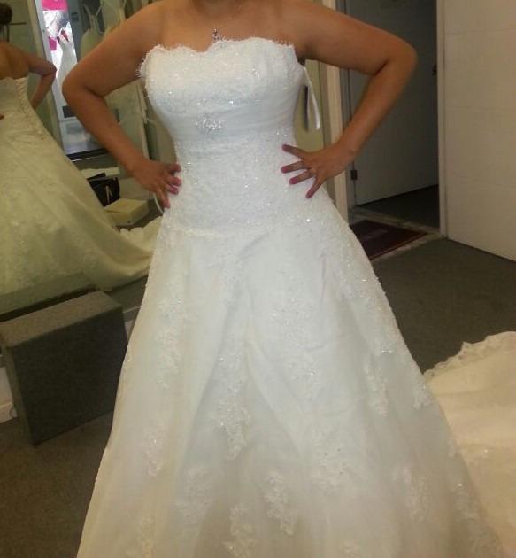 vestido de novia novias de españa excelente estado - $ 6,000.00 en