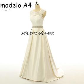 b4564f645c Bonito Vestido De Novia Barato Echo En Novias Los Gatitos - Vestidos de  Mujer De novia Largo Piel en Mercado Libre México